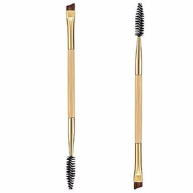 Bamboo brow brush combo