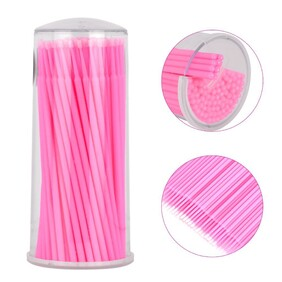 Microbrush 100 pack Pink